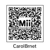 QR Code for Carol Burnett by Gary Gnu