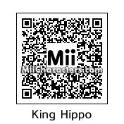 QR Code for King Hippo by J1N2G