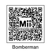 QR Code for White Bomberman by J1N2G