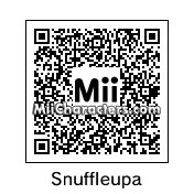 QR Code for Mr. Snuffleupagus by St. Patty