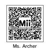 QR Code for Malory Archer by karikrum