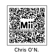 QR Code for Chris O'Neil by Gr8TomodachMii