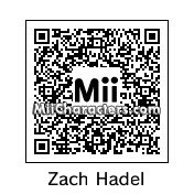 QR Code for Zach Hadel by Gr8TomodachMii