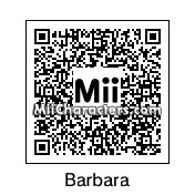 QR Code for Barbara the Bat by J1N2G