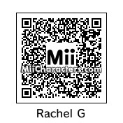 QR Code for Rachel Green by Mano