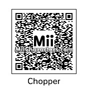 QR Code for Tony Tony Chopper by Boqueron