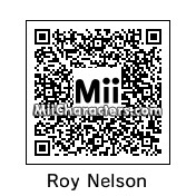 QR Code for Roy Nelson by NessFan