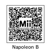 QR Code for Napoleon Bonaparte by SinancoTheBest