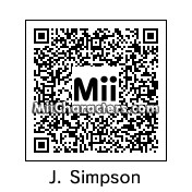 QR Code for Jessica Simpson by St. Patty