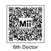 QR Code for The 6th Doctor by SkoomaCat
