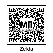 QR Code for Princess Zelda by KeroStar