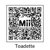 QR Code for Toadette by KeroStar