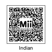 QR Code for Native American by Zombii
