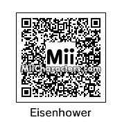 QR Code for Dwight Eisenhower by wii349