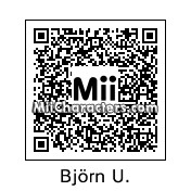 QR Code for Bjorn Ulvaeus by wii349
