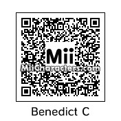 QR Code for Benedict Cumberbatch by IntroBurns