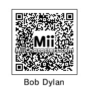 QR Code for Bob Dylan by Cpt Kangru