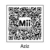 QR Code for Aziz Ansari by Lunatic
