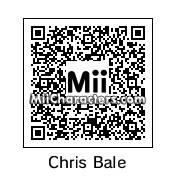 QR Code for Christian Bale by Cpt Kangru
