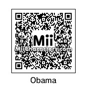 QR Code for Barack Obama by Derp