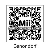 QR Code for Ganondorf by SpecsDoublade