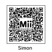 QR Code for Simon Belmont by Fnaf