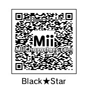 QR Code for Black Star by Harmony B