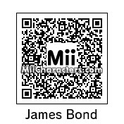 QR Code for James Bond by Ultra