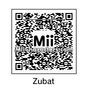 QR Code for Zubat by Jacob Jensen