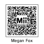 QR Code for Megan Fox by Cpt Kangru