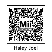 QR Code for Haley Joel Osment by Cpt Kangru