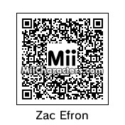 QR Code for Zac Efron by Cpt Kangru