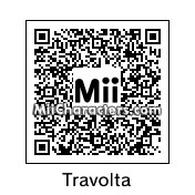 QR Code for John Travolta by Cpt Kangru