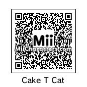 QR Code for Cake the Cat by TXClaw
