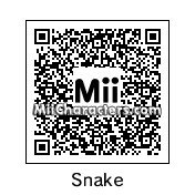 QR Code for Solid Snake by MaverickxMM