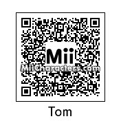 QR Code for Tom DeLonge by Mordecai