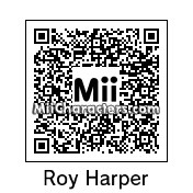 QR Code for Roy Harper by Mordecai