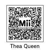 QR Code for Thea Queen by Mordecai