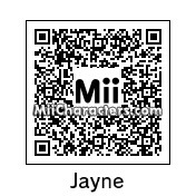 QR Code for Jayne Cobb by Mordecai