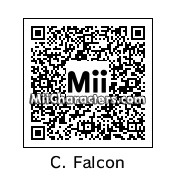 QR Code for Captain Falcon by Ultrashroomz