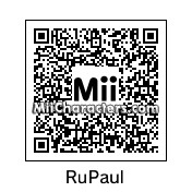QR Code for RuPaul by Cpt Kangru