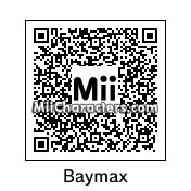 QR Code for Baymax by K1ngOfN1njas