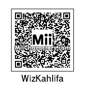 QR Code for Wiz Khalifa by J1N2G