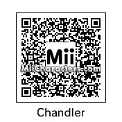 QR Code for Chandler Bing by djblady