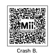 QR Code for Crash Bandicoot by Crashloxx