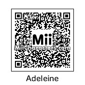 QR Code for Adeleine by KM22