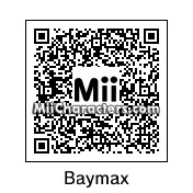 QR Code for Baymax by miicreator3000