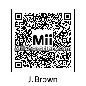QR Code for James Brown by Adam
