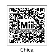 QR Code for Chica the Chicken by Eddy