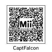 QR Code for Captain Douglas Jay Falcon by J1N2G